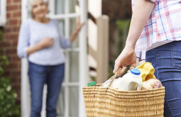 Betreuungs- & Entlastungsleistungen Spazierengehen einkaufen Begleitung zu Terminen