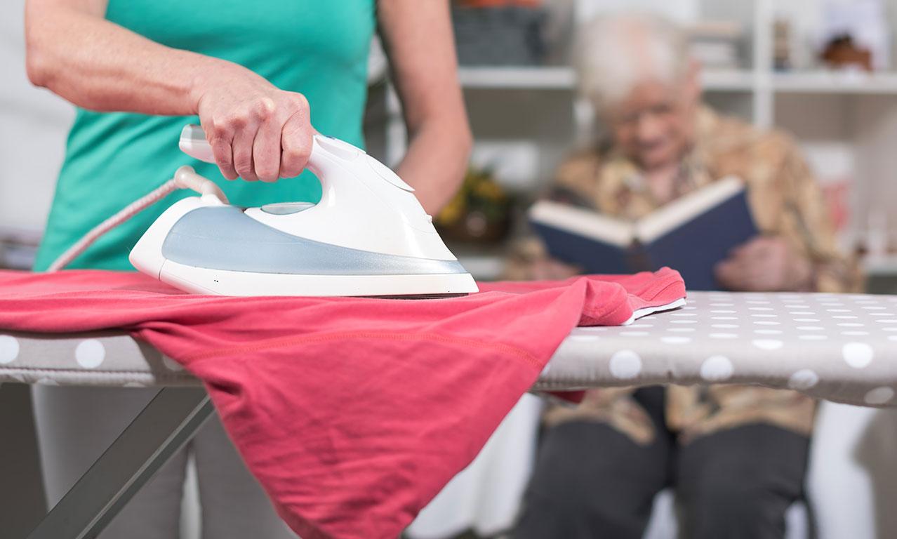 Betreuungs- & Entlastungsleistungen Wäsche waschen und bügeln